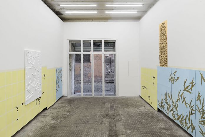 Alek O. L'impero delle luci. Installation view at Frutta Gallery, Roma 2017