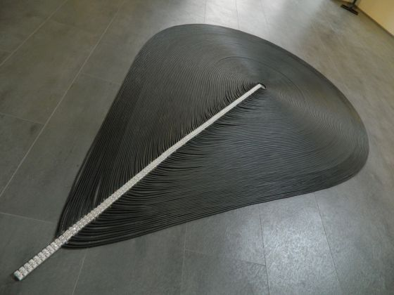 Alessandro Brighetti, De Rerum Sculptura, 2017, exhibition view at GABA.MC, Macerata