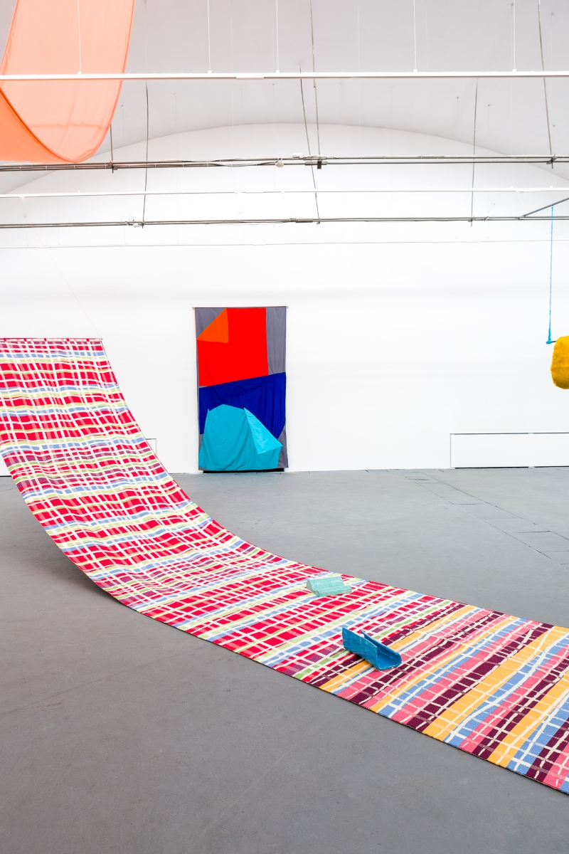 Alicja Bielawska, If not here, where?, exhibition view at Labirynt Gallery, Lublino 2017, photo Frederik Gruyaert