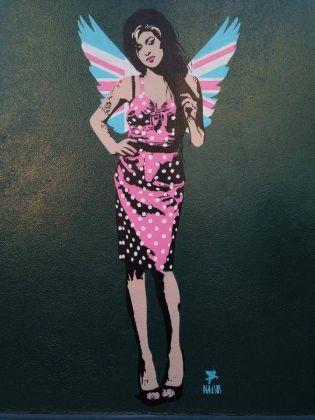 Amy Winehouse by Pegasus, London