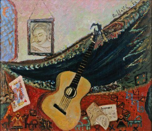 Antonietta Raphaël, Natura morta con chitarra, 1928. Collezione Giuseppe Iannaccone