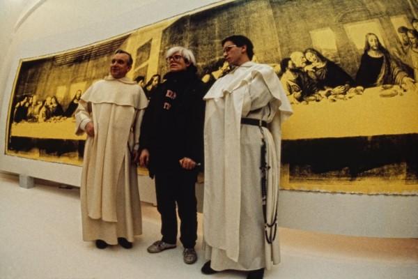 Archivio Garghetti- Warhol Ultima Cena Palazzo delle Stelline, 1987