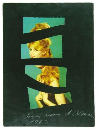 Arman, B.B., 1963. Collezione Palli