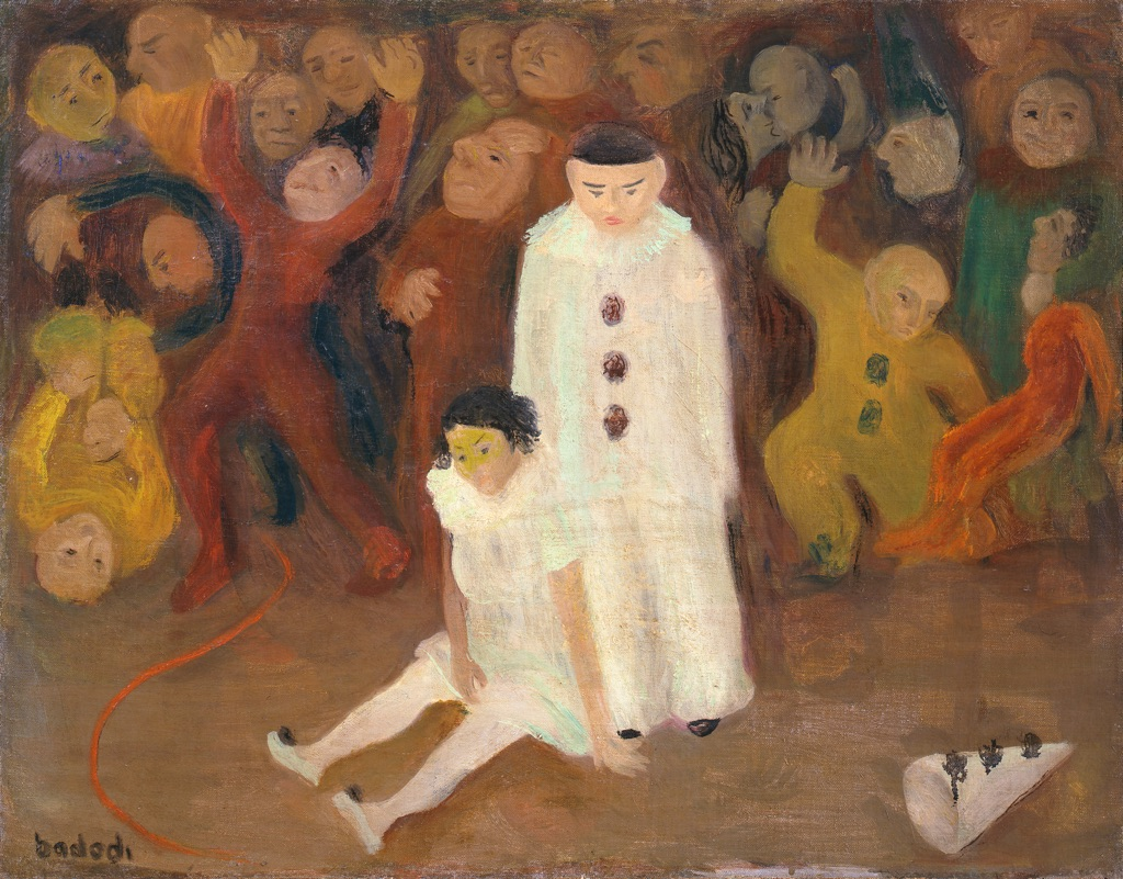 Arnaldo Badodi, Il circo, 1941. Collezione Giuseppe Iannaccone