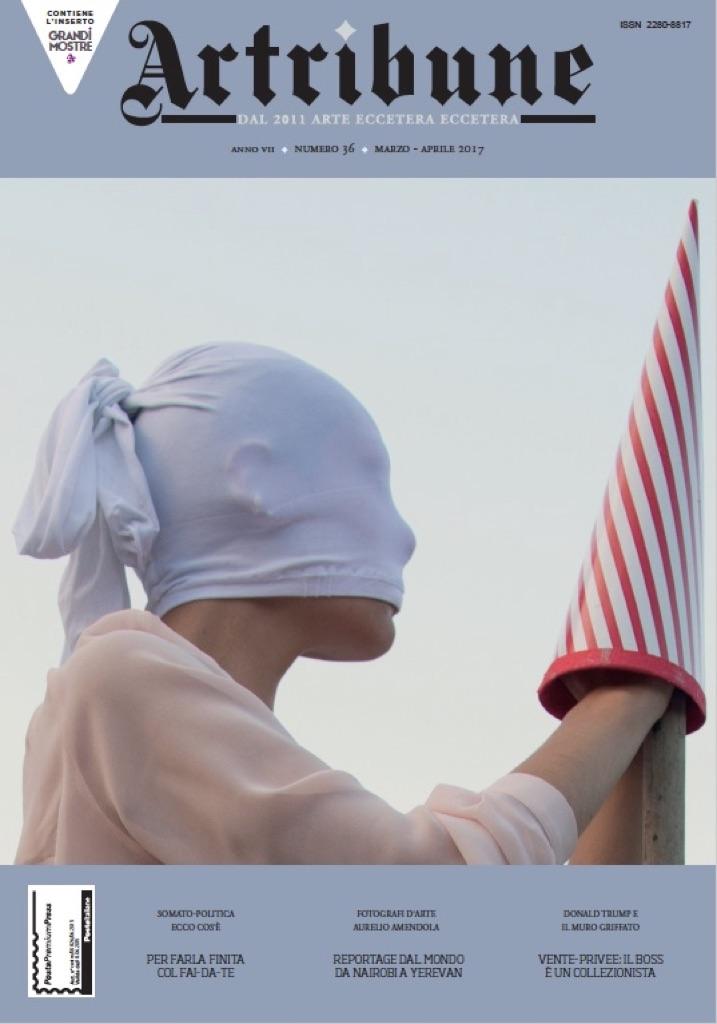 Artribune Magazine #36. Nuvola Ravera, Morte è la notte senza sogni. Le fou, 2012/ 2017, San Carlo-Pegli, documentazione di performance senza pubblico, nei panni di un tarocco/ padre