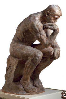 Auguste Rodin, Le Penseur, grand modèle, SNBA, 1904, © Musée Rodin (photo Christian Baraja)