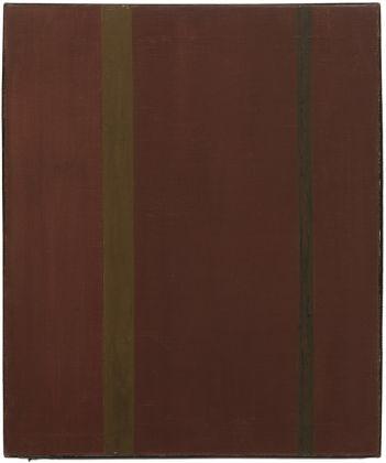 Barnett Newman, Galaxy, 1949. Collection of Lynn and Allen Turner. © The Barnett Newman Foundation, New York- VEGAP, Bilbao, 2016