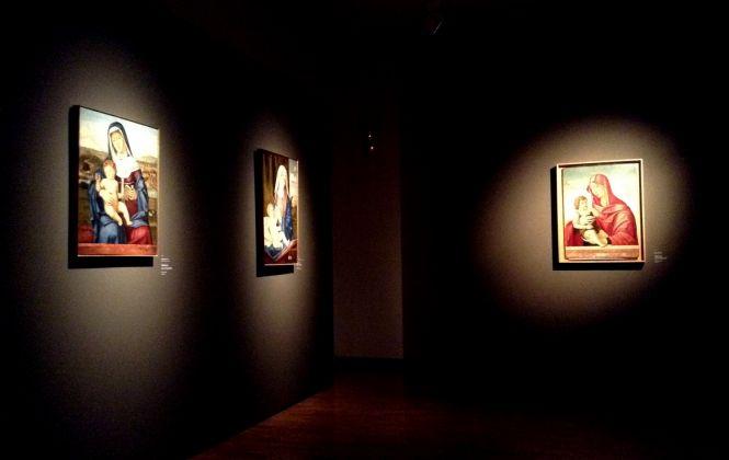 Bellini e i belliniani dall'Accademia dei Concordi di Rovigo. Exhibition view at Palazzo Sarcinelli, Conegliano 2017