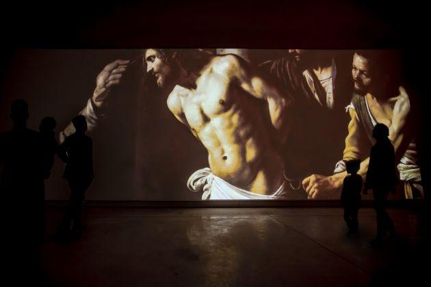 Caravaggio Experience, Elaborazione Grafica, The Fake Factory foto Scala Firenze