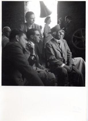 Carlo Ludovico Ragghianti con Frank Lloyd Wright