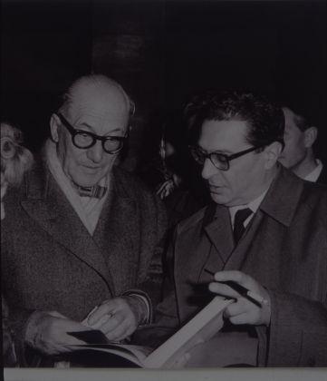 Carlo Ludovico Ragghianti con Le Corbusier