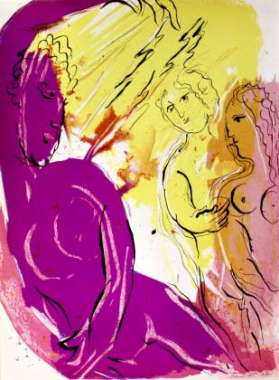 Chagall, Ange du paradis