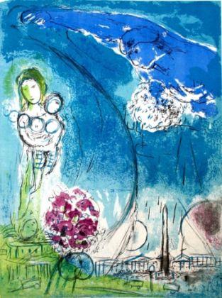 Chagall, Place de la Concorde