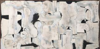 Conrad Marca-Relli, East Wall (LL-10-59), 1959. Private collection, Parma. Courtesy Archivio Marca-Relli. © Archivio Marca-Relli, Parma. Photo Roberto Ricci