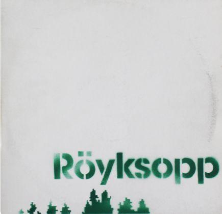 Copertina di Bansky per il disco di Royksopp