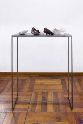 Cosimo Veneziano, Membrane, 2017. Installation view at Alberto Peola Gallery, Torino. Photo Cristina Leoncini