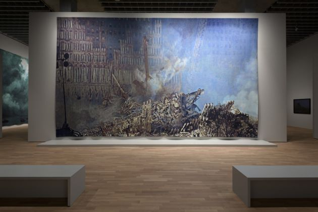 Craigie Horsfield. Installation view at MASI, Lugano 2017. Photo Studio Pagi