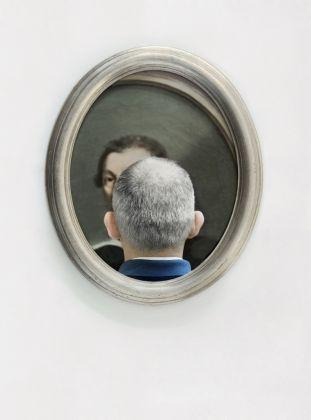 Dalla serie Vedere attraverso, Bologna 2010 (Pinacoteca Nazionale di Bologna) © Mario Cresci