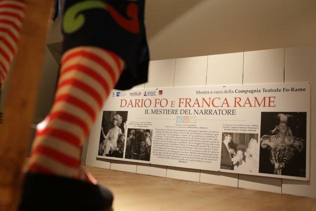 Dario Fo e Franca Rame, Palazzo Barberini, Roma