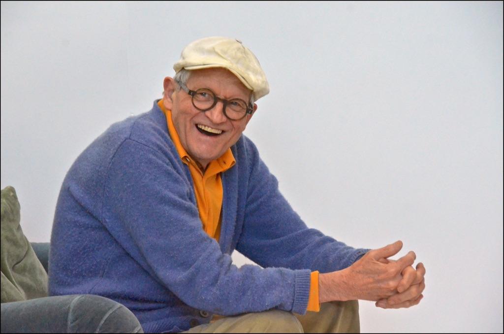 David Hockney, Los Angeles, marzo 2016 © David Hockney. Photo Jean-Pierre Gonçalves de Lima