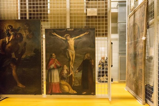Deposito di Santo Chiodo, Spoleto. Photo Lucilla Loiotile. Per gentile concessione del Ministero dei Beni Culturali e della Regione Umbria
