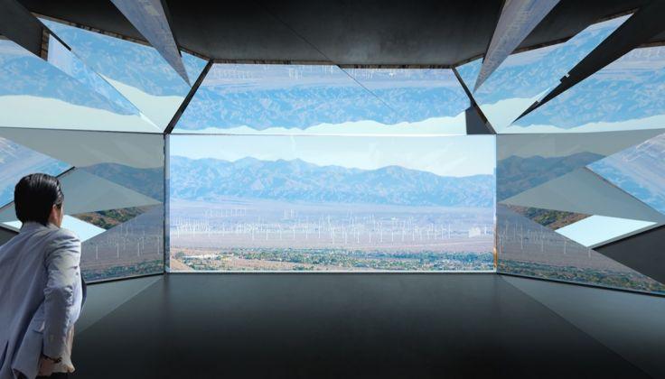 Doug Aitken Workshop, Mirage, 2017, rendering, Palm Springs, California. Courtesy of Doug Aitken Workshop