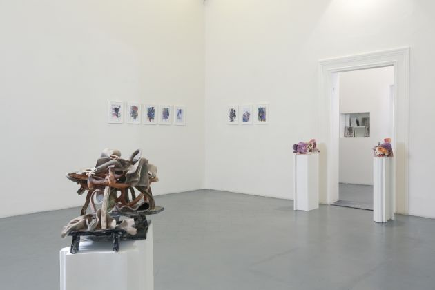 Edi Rama. Exhibition view at Eduardo Secci Contemporary, Firenze 2017