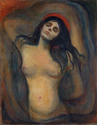 Edvard Munch, Madonna, 1894-5. Munch Museum, Oslo