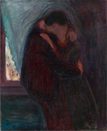 Edvard Munch, The kiss, 1897. Munch Museum, Oslo