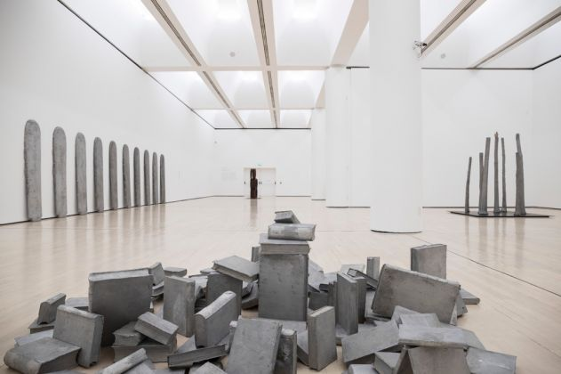 Eliseo Mattiacci. Installation view at MART, Rovereto 2017. Photo Mart, Jacopo Salvi