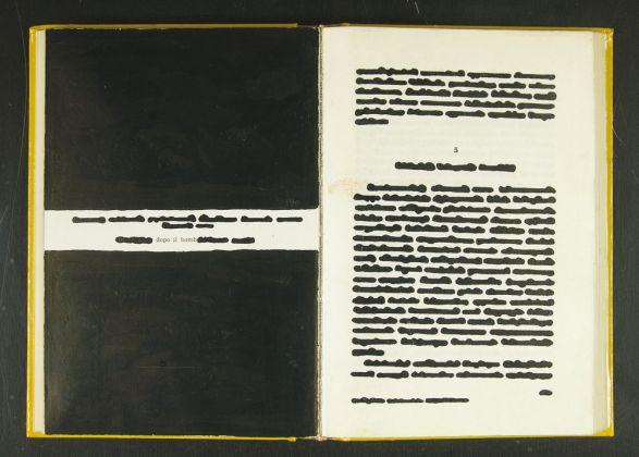 Emilio Isgrò, Dopo il bomb, 1973. Collezione Palli