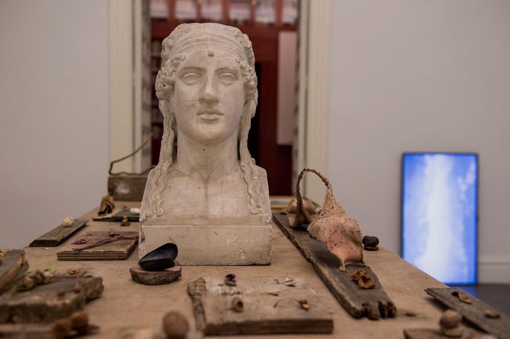 Fatto a Roma. Exhibition view at Accademia di San Fernando, Madrid 2017