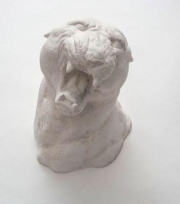 Felice Levini, Gli occhi del gatto, 2001, acrilico resina