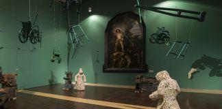 Foto dalla mostra di Jan Fabre a San Pietroburgo, ph. Attilio Maranzano