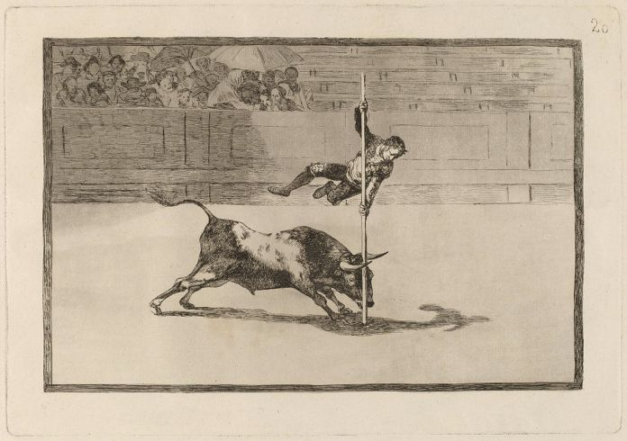 Francisco Goya, La Tauromaquia (1815-16)
