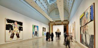 Georg Baselitz. Glie Eroi, Palazzo delle Espsizioni, Roma, 2017, veduta della mostra
