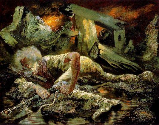 George Grosz, Il sopravvissuto, 1944