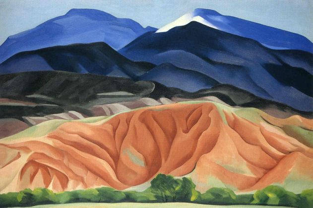 Georgia O'Keeffe, Black Mesa Landscape, 1930