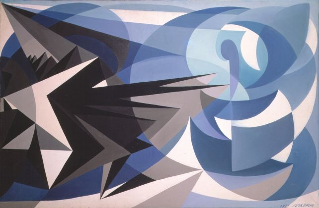 Giacomo Balla, Pessimismo e ottimismo, 1923. Dono Elica e Luce Balla, 1984 © Galleria Nazionale d'Arte Moderna e Contemporanea di Roma
