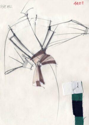 Gianfranco Ferrè. Moda, un racconto nei disegni, Cremona, 2017