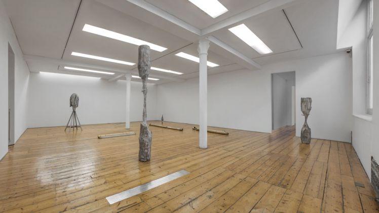Giorgio Andreotta Calò, La scultura lingua morta, 2015. Installation view, Sprovieri, Londra