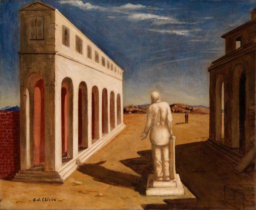 Giorgio de Chirico, Piazza d'Italia (Souvenir d'Italie), 1924-25. Mart, Rovereto. © Giorgio de Chirico, VEGAP, Madrid, 2017
