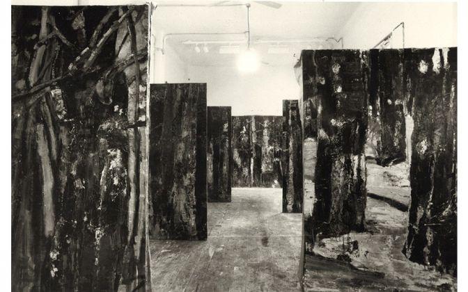 Giovanni Frangi, Il Richiamo della foresta, 1999. Courtesy Galleria dello Scudo, Verona. Photo Paolo Vandrasch