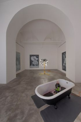 Graham Hudson, I'm empty like a vegetable, 2017. Photo Giorgio Benni. Courtesy l'artista e Monitor, Roma