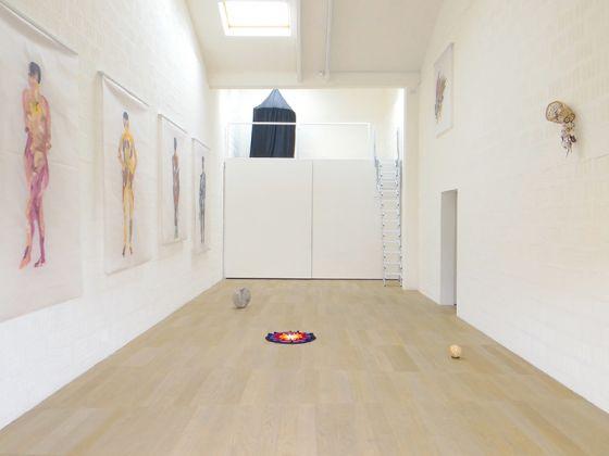 Graziano Folata, Parabola, exhibition view at Galleria Massimodeluca, Mestre 2017