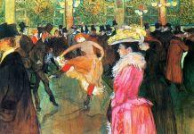 Henri De Toulouse-Lautrec, Au Moulin Rouge. La Danse,1889-90