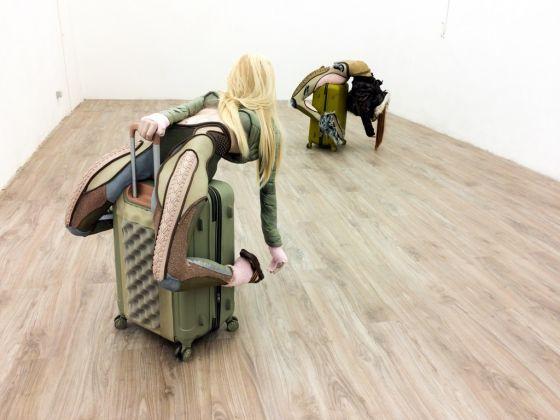 Homo Mundus Minor. Anna Uddenberg. Installation view at T293, Roma 2017