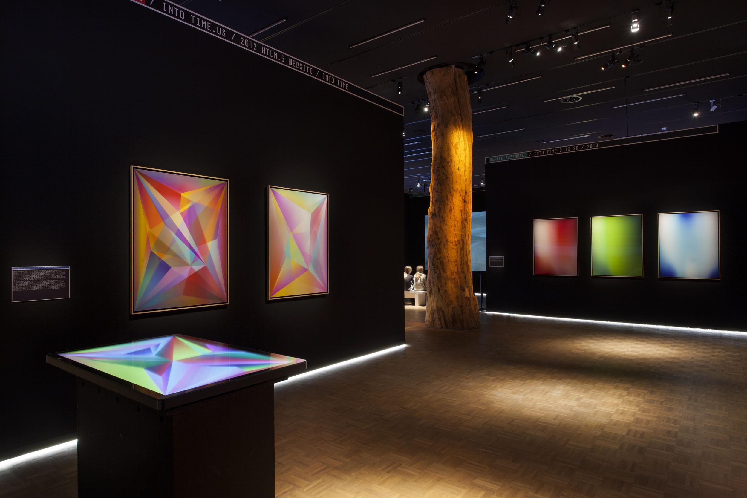 Human - Digital. Exhibition view at Kunsthal Rotterdam, 2017. Photo Job Janssen