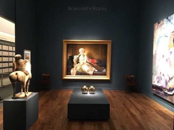Galleria Robilant & Voena, lo stand al TEFAF