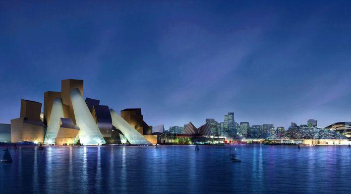 Il Guggenheim di Abu Dhabi. Ph. by Dezeen